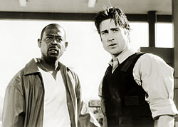 Martin Lawrence and Luke Wilson in Blue Streak