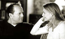 Bruce Willis and Michelle Pfeiffer in The Story of Us